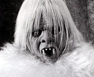 The Yeti from The Seven Faces of Dr. Lao. From The Bigfoot Filmography by David Coleman.