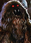 "Yeti from Dr. Who. From ""The Bigfoot Filmography"" by David Coleman."