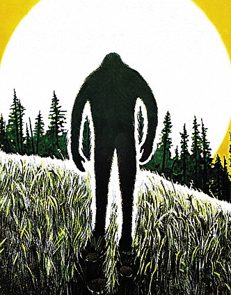 The Bigfoot Filmography by David Coleman, Cover Detail